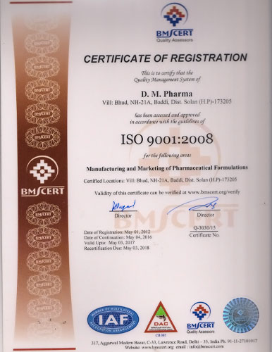 how to get iso certification for a company in india
