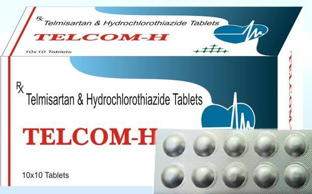 Product information telmisartan and hydrochlorothiazide tablet what is this medicine?